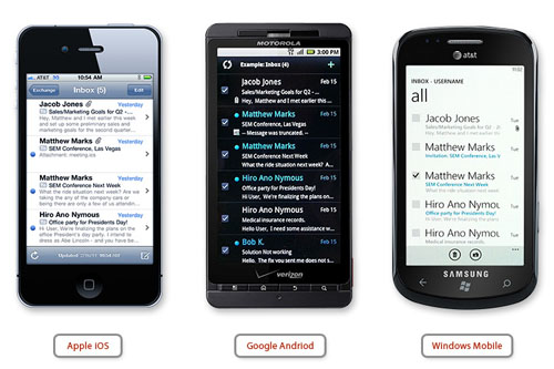 Smartermail Mobil Sync