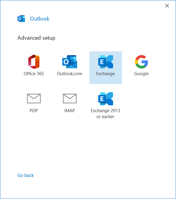 Smartermail setup outlook with exchange